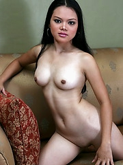 Young Darling teases us with her nubile mouth watering brown love orifices