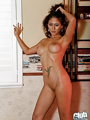 Ayanna getting totally nude