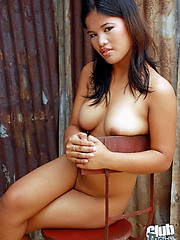Cute Jome nude and spreading