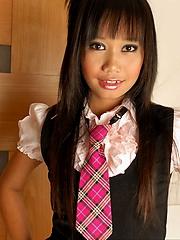 Thai Nicha pulling panties