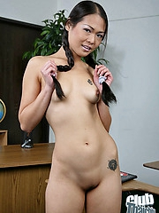 Naomi Zen nude with pigtails