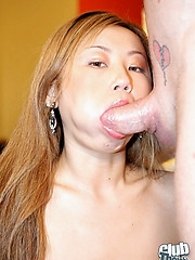 Tai Michelle giving blowjob