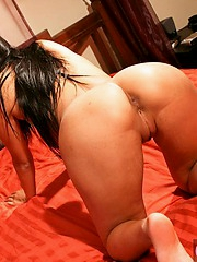 Sharon Lee showing ass and pussy