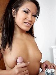 Christina Aguchi sucking unending dick