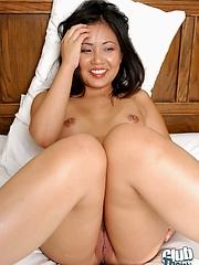 Pussy pierced babe in arms Lynda Nguyen
