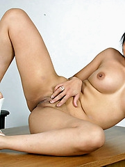 Mika Tan dropping denim chick