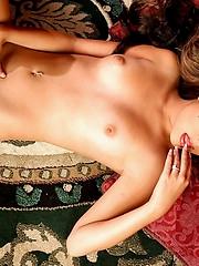 Michelle Maylene nude on rug