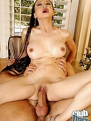 Ange Venus with cock burried deep