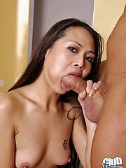 Naomi Zen sucking hard cock