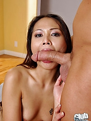 Naomi Zen sucking hard cock
