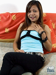 Petite Thai cutie Nun stripping