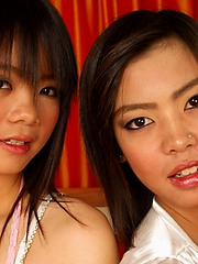 Thai lesbian girls Aunchan and Nan