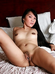 Shy Carla slowly undresses and flashes her brown love orifices to our greedy eyes