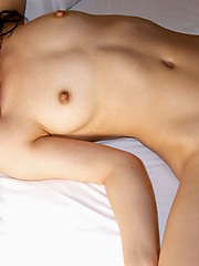 Yuka is a lovely horny Asian slut with a hairy pussy and nice tits she\'ll share