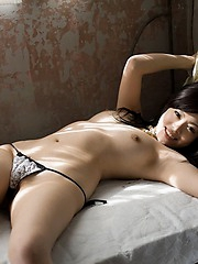 Naughty China likes to show off her hot ass by flashing for a photo