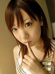 Azuki enjoys dressing like a schoolgirl for her horny older consort