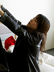 Lovely Asian teen is a little sexy cock tease showing ogg her hot body