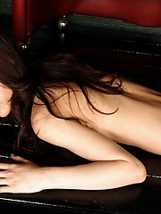 Lovely Asian bikini model enjoys showing off her hot sexy body