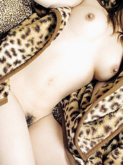Asian beauty is a naughty slut who likes to show her pussy and  firm round tits