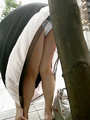 Mio sexy Asian teen is a maid who also enjoys modeling for fun