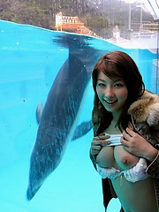 Akane is a beautiful model with an incredibly sexy body all the guys want