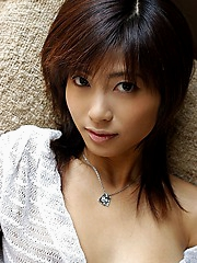 Rin Suzuka Asian model is adorable and shy but very hot for sex