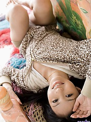 Aino is an Asian model who enjoys getting her need for fucking taken care of