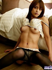 Naughty slut Asuka enjoys getting naked for her dates and getting a pounding