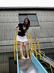Takako Kitahara lovely Asian model likes to show off her hot fuckable body