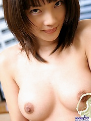 Horny model Nana is a lovely big titted sex machine who is very popular