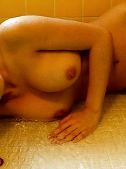 Japanese model is a slutty chick who enjoys teasing guys with her hot pussy