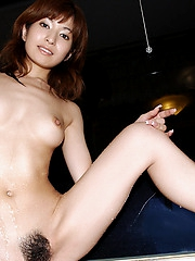 Japanese slut chases balls both in the house and on the golf course when she can