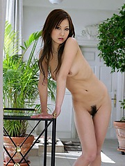 Ryo Uehara shows her sexy body posing nude for some hot shots