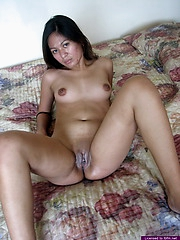 Shy Jayda strips in front of a camera for the very first time