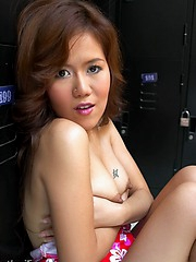 Seductive hoe Hana will amaze you with her lovely smile and tight body