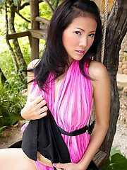 Jungle scene starring Nancy Ho and her breasts