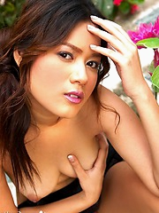Make Dawan shows off her perky chest and nipples