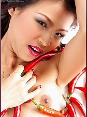 Naomi Chatee sure is one spicy hot Thai tamale
