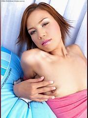 Susan Kim strips out of them tight panties