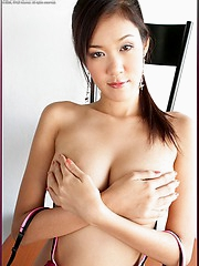 Thai softcore superstar Irene Fah in the buff