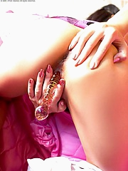 Rin Darin probes her pink tunnel of love