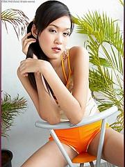 Asian model Irene Fah is such a cutie