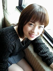 Minami flaunts her tiny and luscious tits