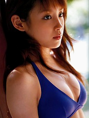 Infatuating and seductive babe takahashi