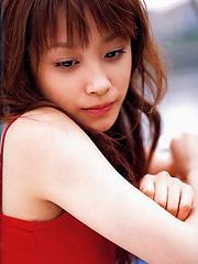 Infatuating and seductive babe takahashi
