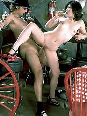 Erotic and hardcore interracial sex