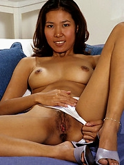 This amateur cutie has the nicest hairy snatch