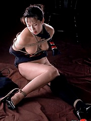 Asian nipple and tongue torture