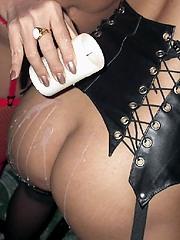 Thai lesbian candle wax torture