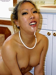 Ayoko gets a messy facial while in the shower
